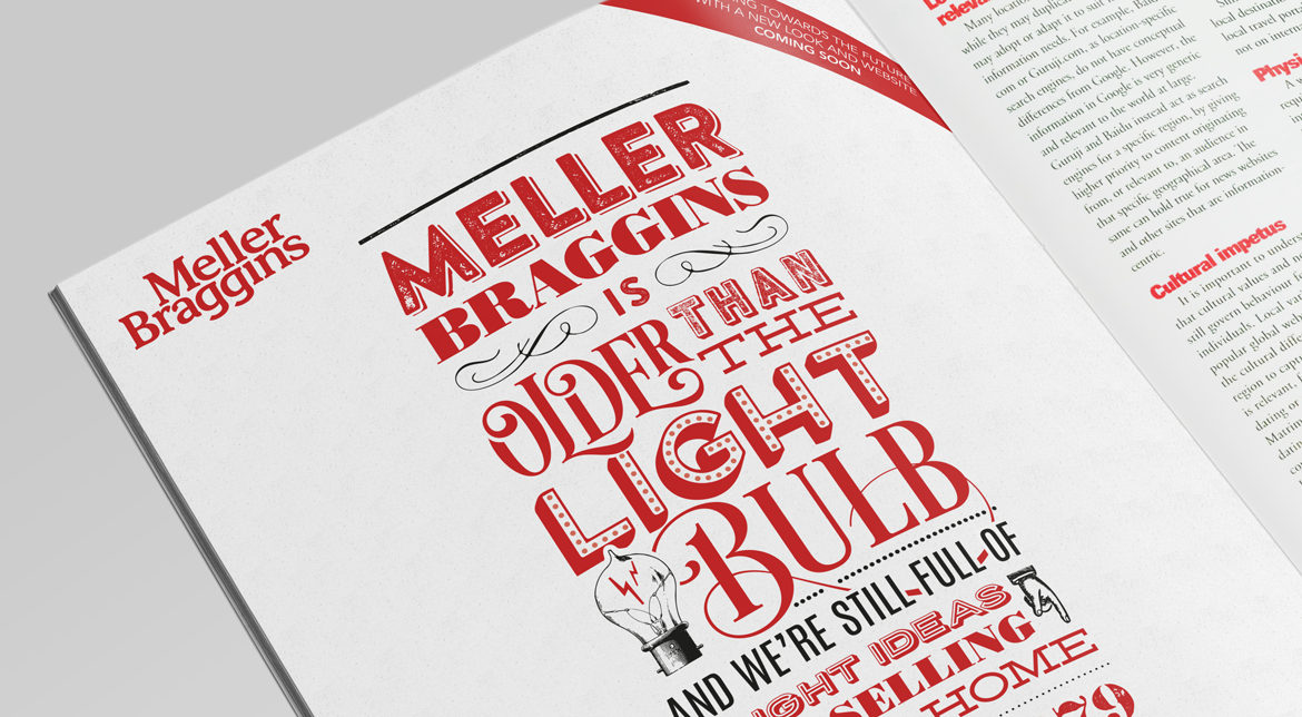 Meller Braggins Magazine Advert