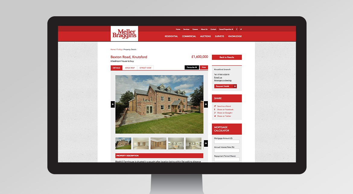 Meller Braggins Responsive Website