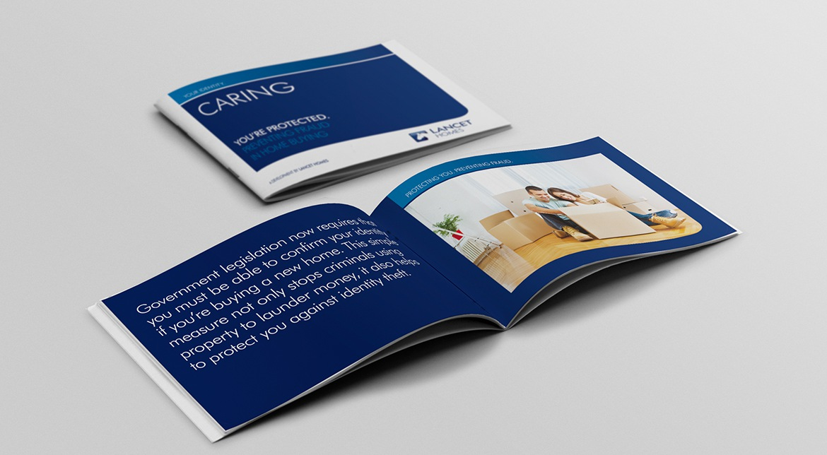 Lancet Homes Brochure | Property Brochure Design