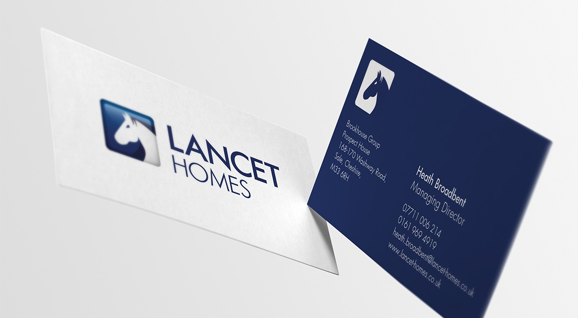Lancet Homes Stationery | Property Branding