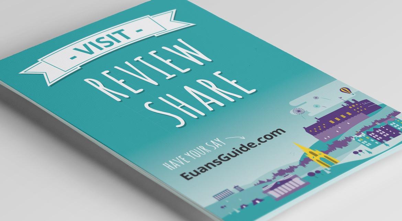 Euan's Guide Leaflet Design