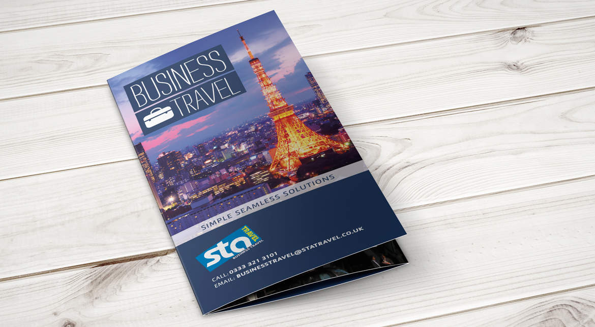 STA Travel Corporate Travel Branding