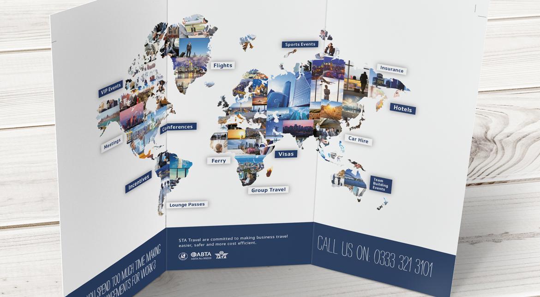 STA Travel Corporate Travel Branding