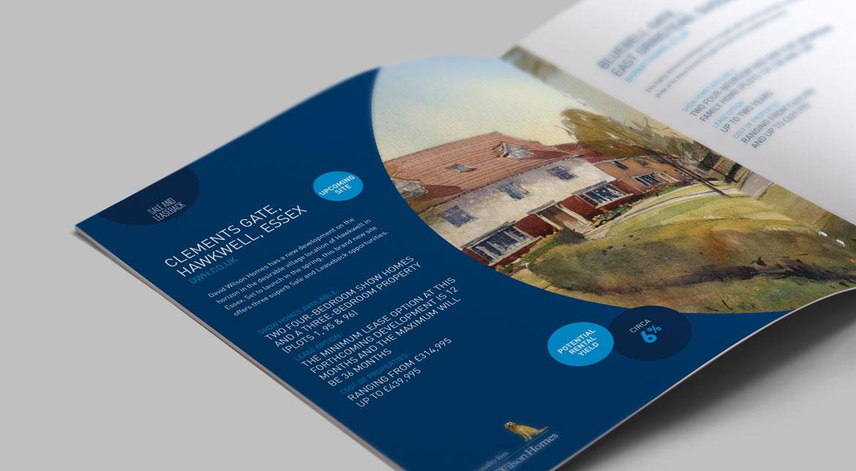 Brochure Design for Barratt Homes