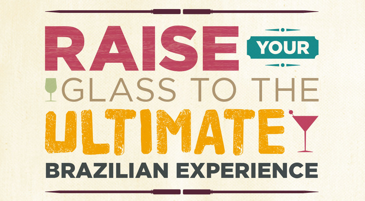 Typography design as part of brand development for Bem Brasil