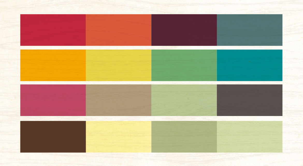 Brand Development - Colour Palette