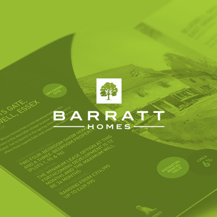 Barratt Homes Brochure Design
