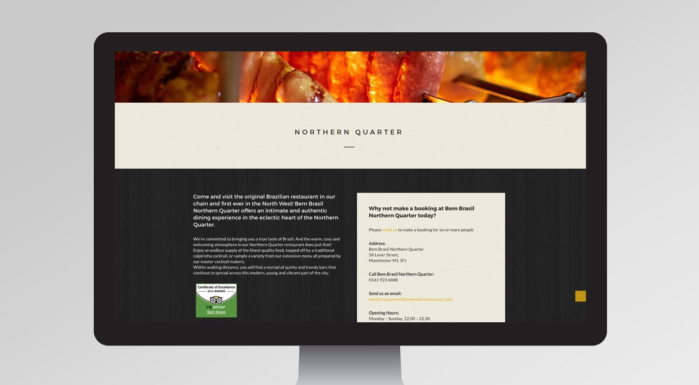 Bem Brasil Website Desktop
