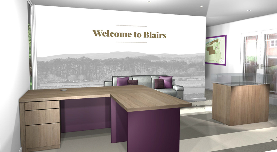 Muir Homes - Blairs Marketing Suite