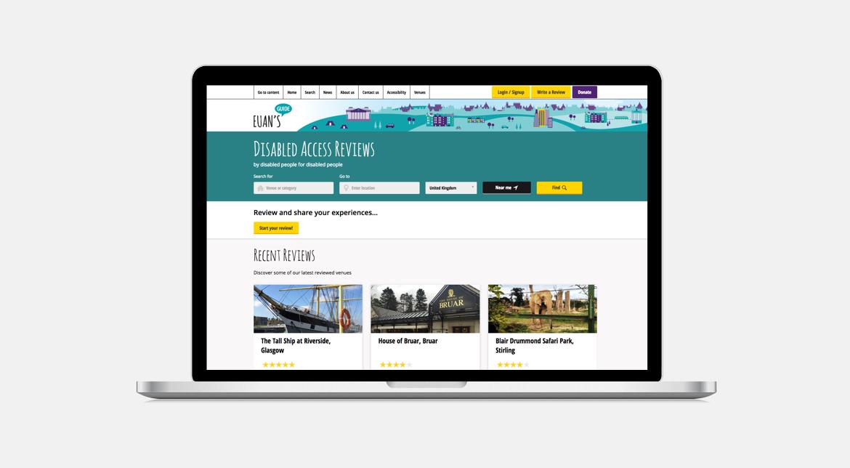 Euan's Guide Website Design