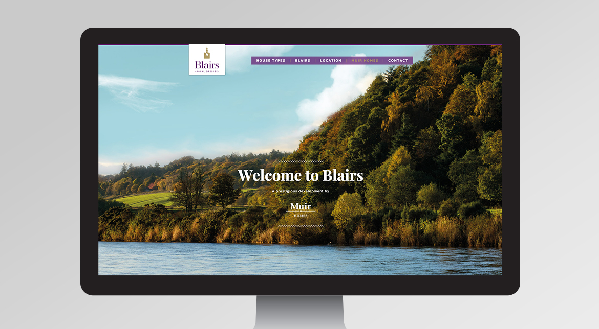 Blairs Website