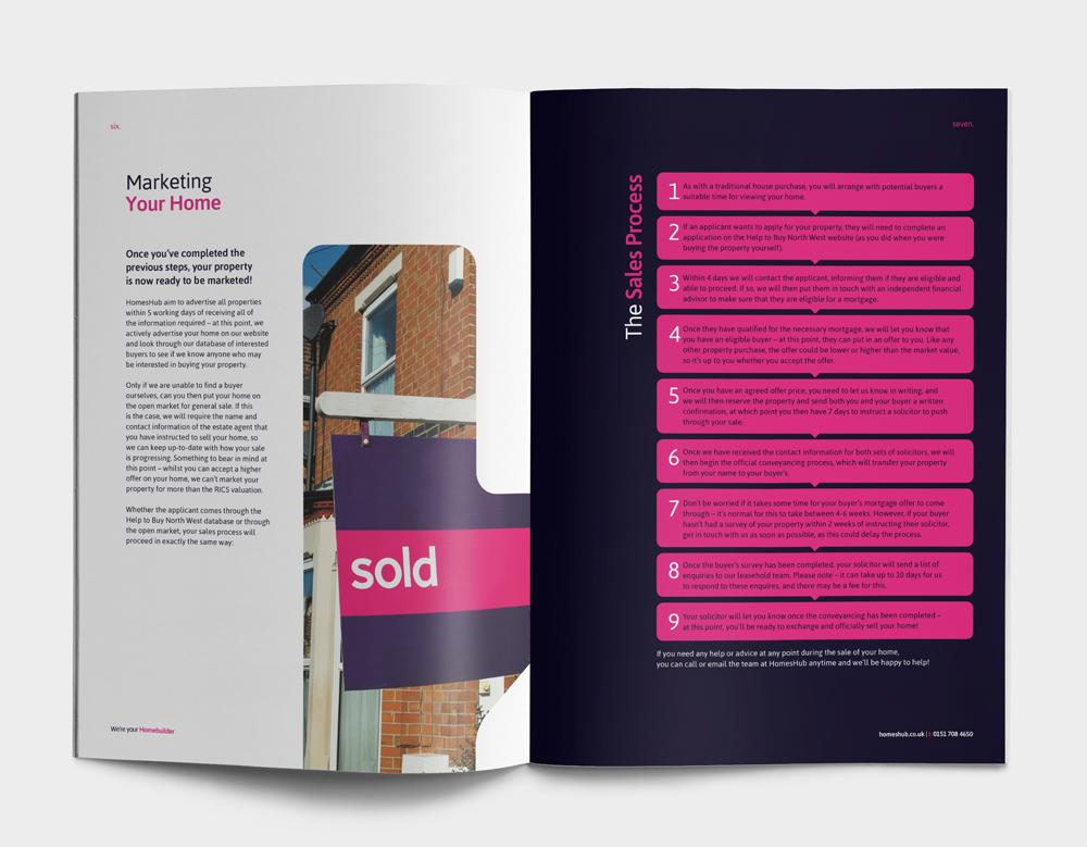 Homeshub - Boxed Red Marketing