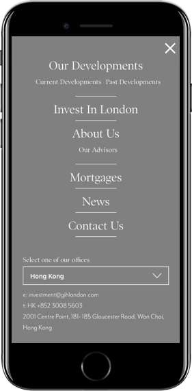 Mobile Website Screenshot