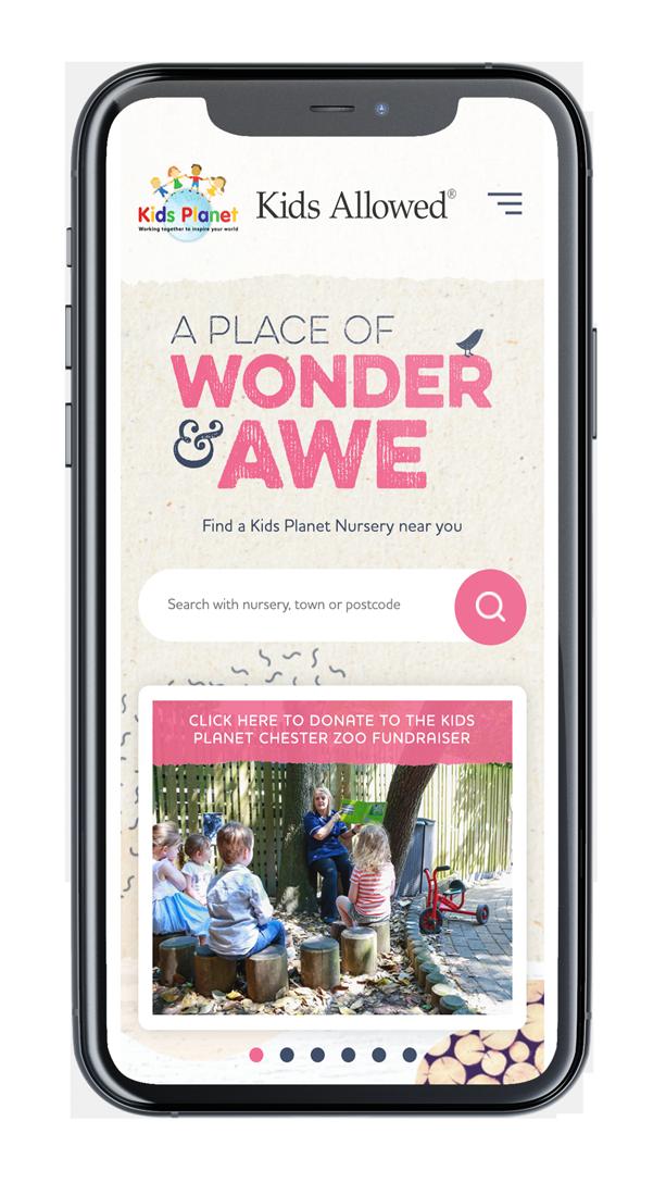Mobile Website Screenshot